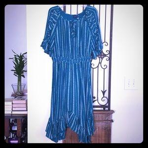 Kaari Blue Moroccan Coast Dress XL